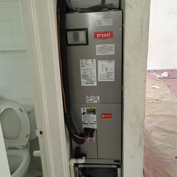 2 Ton A C Unit Installation For Florida Home In West Palm
