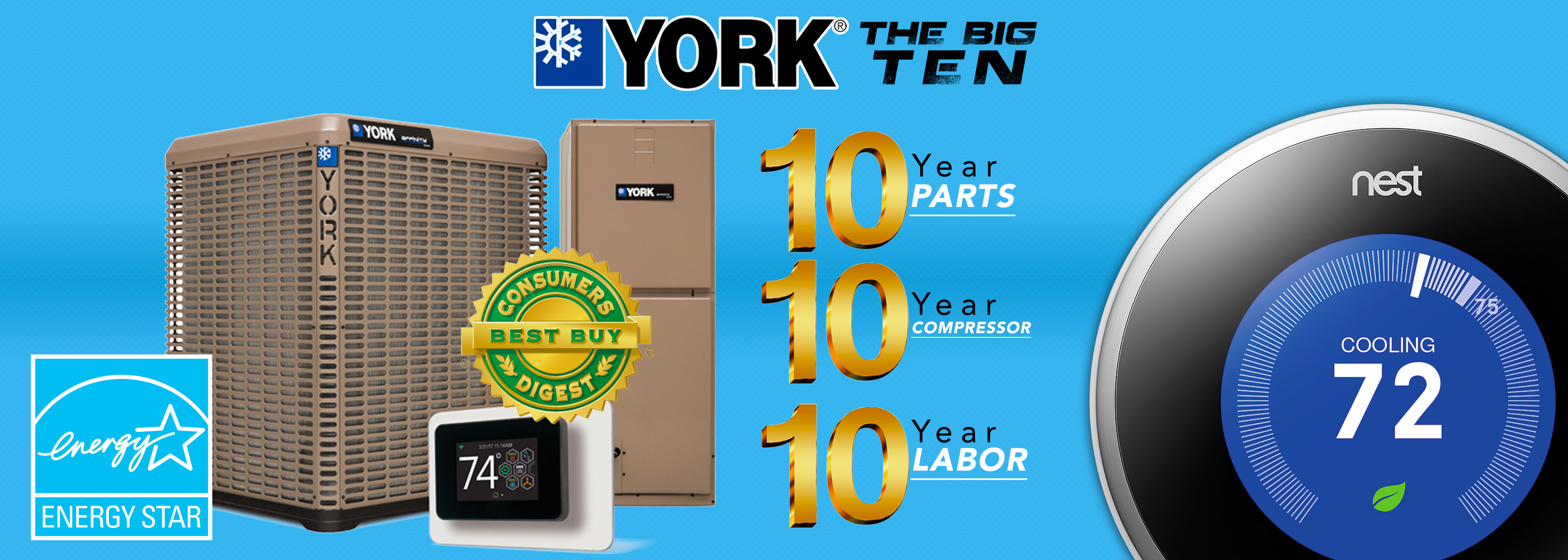 York HVAC Sales Event
